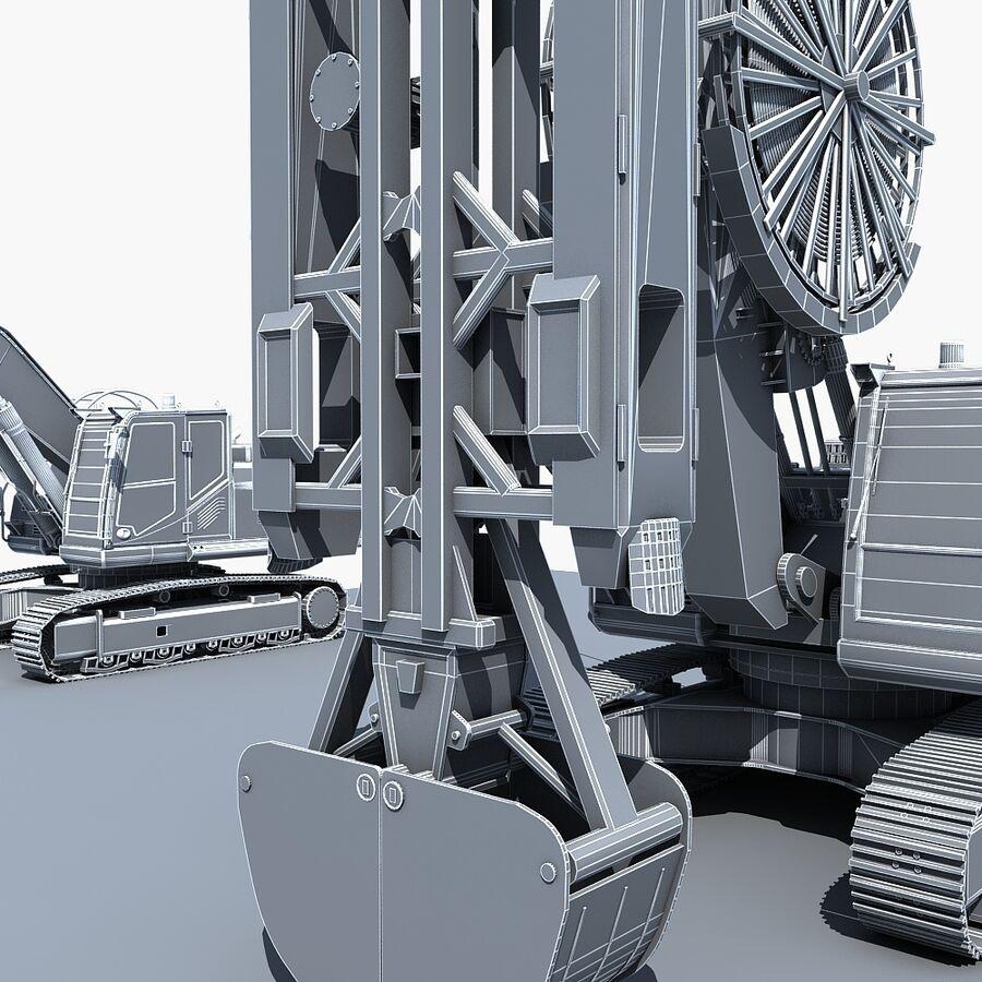 工程机械3 royalty-free 3d model - Preview no. 22