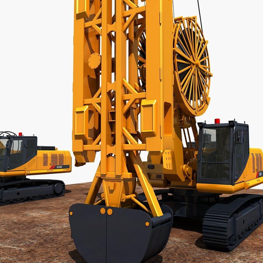 工程机械3 royalty-free 3d model - Preview no. 4