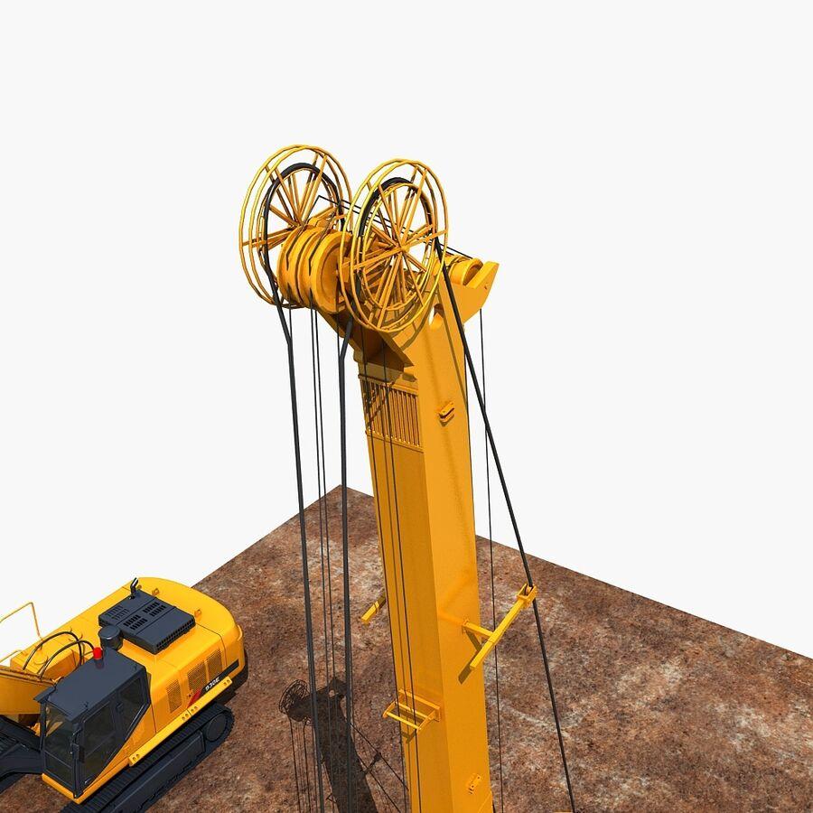 工程机械3 royalty-free 3d model - Preview no. 6