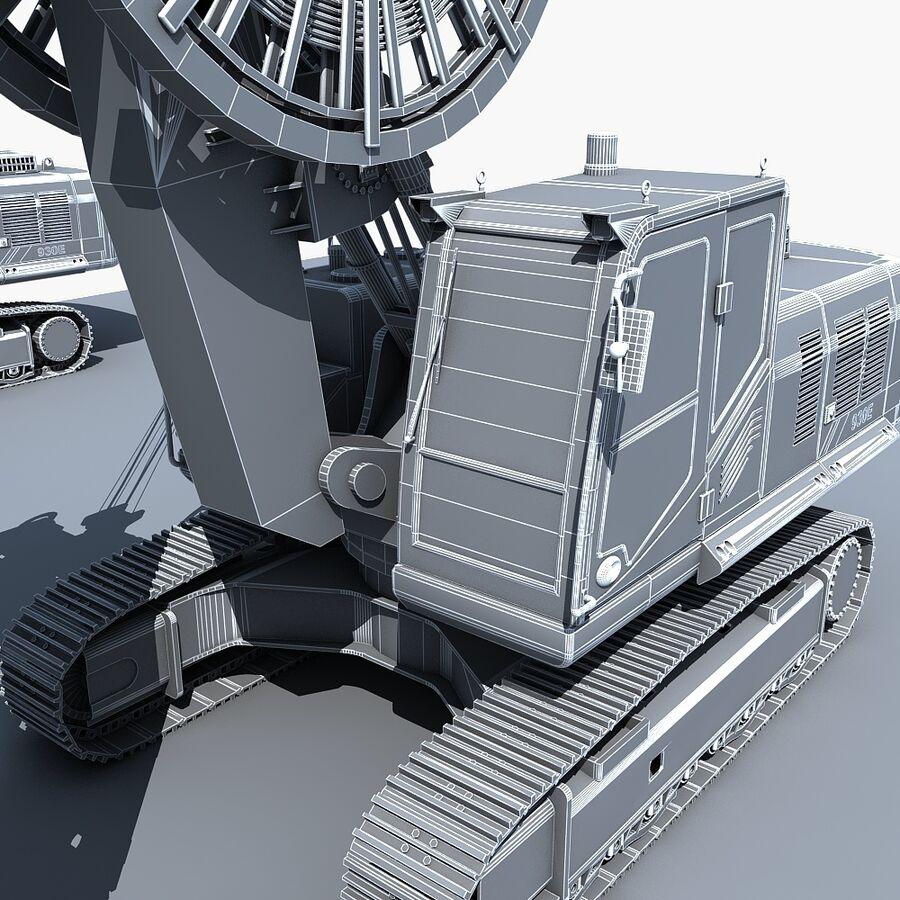 工程机械3 royalty-free 3d model - Preview no. 25