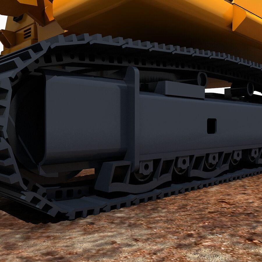 工程机械3 royalty-free 3d model - Preview no. 13