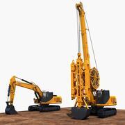 Machines de construction 3 3d model