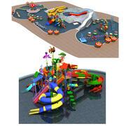 Coleção do Parque Aquático 3d model