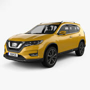 Nissan X-Trail 2017 3d model