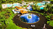 Parque de diversões 3d model