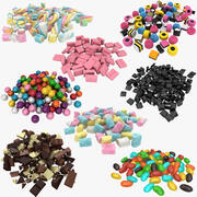 Candy Pile Collection 3d model