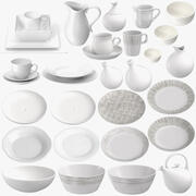 Porcelain Collection 3d model