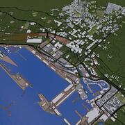 CAPE TOWN CITY 3d model