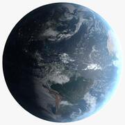16k Photorealistic Earth 3d model