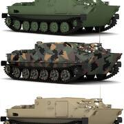 BTR-50 Collection 3D 3d model