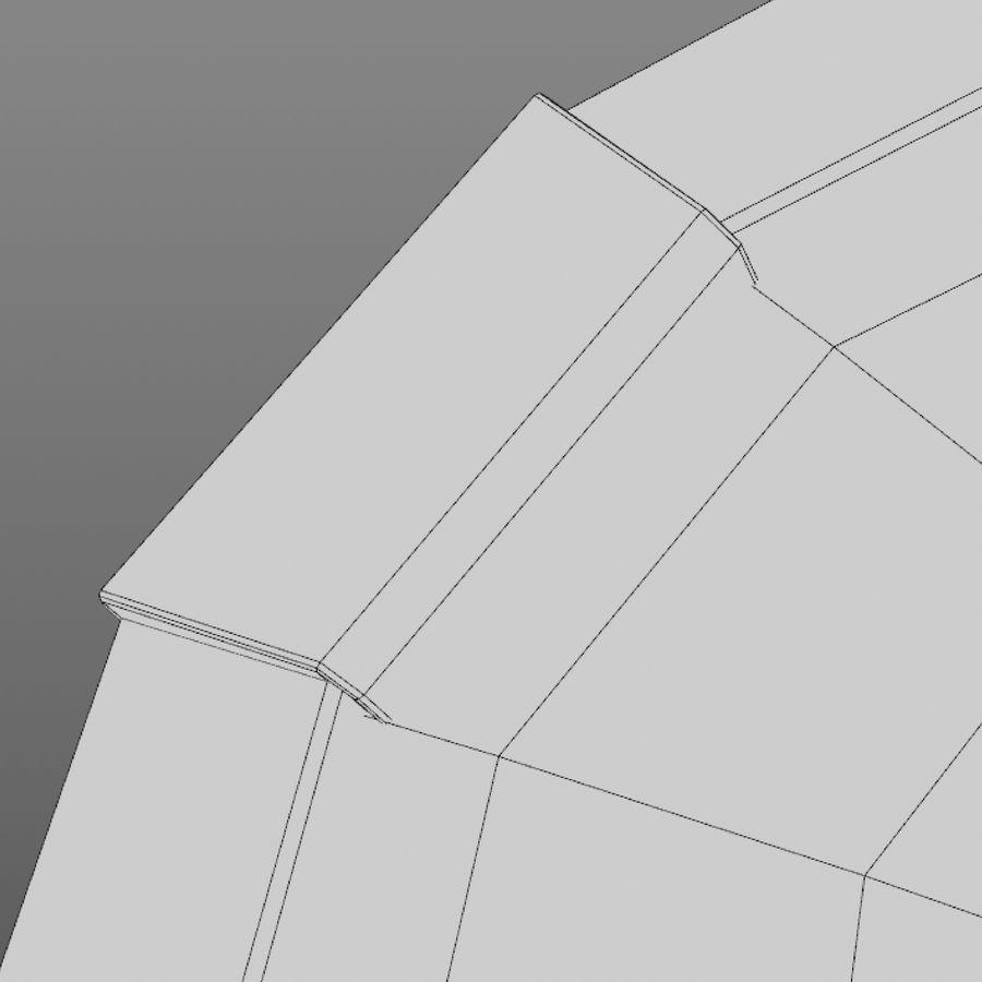 만화 방패 royalty-free 3d model - Preview no. 14