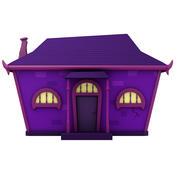 Fantasy Cartoon House 3d model