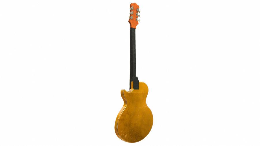 Elektrisk gitarr (PBR) royalty-free 3d model - Preview no. 4