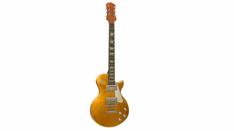 Elektrisk gitarr (PBR) royalty-free 3d model - Preview no. 1