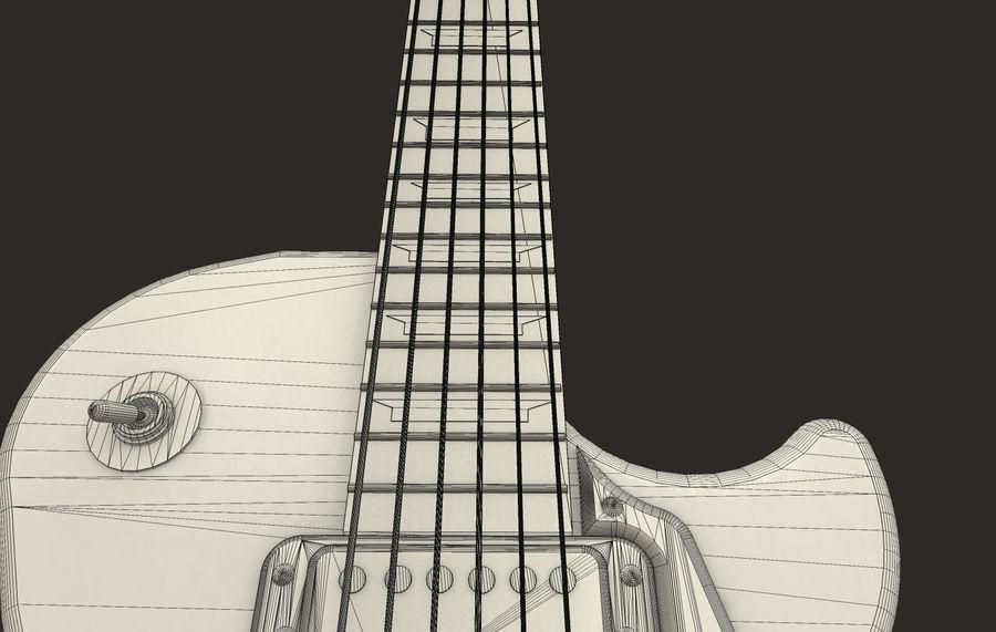 Elektrisk gitarr (PBR) royalty-free 3d model - Preview no. 7