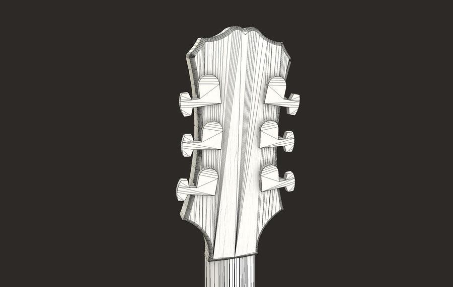 Elektrisk gitarr (PBR) royalty-free 3d model - Preview no. 12
