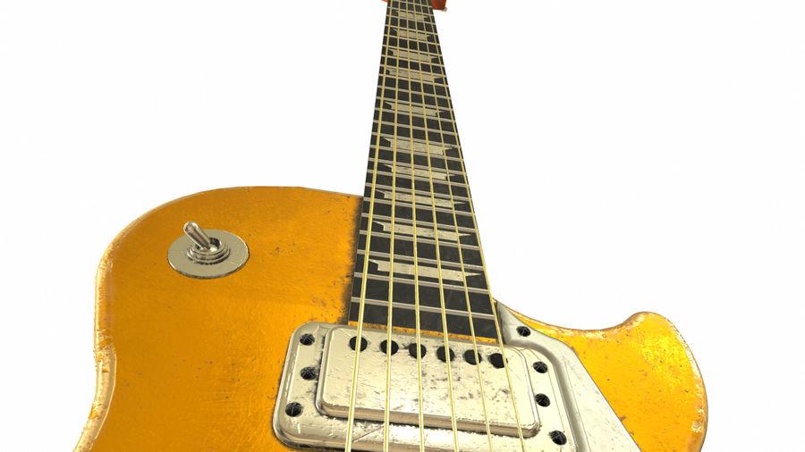 Elektrisk gitarr (PBR) royalty-free 3d model - Preview no. 10