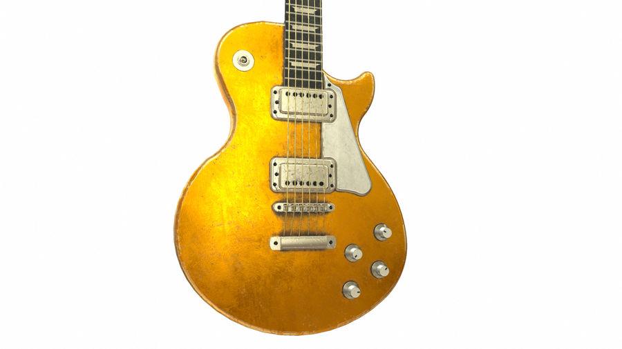 Elektrisk gitarr (PBR) royalty-free 3d model - Preview no. 2