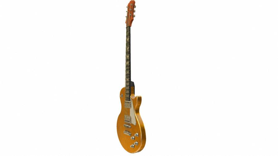 Elektrisk gitarr (PBR) royalty-free 3d model - Preview no. 9