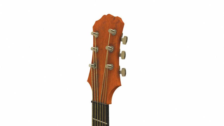 Elektrisk gitarr (PBR) royalty-free 3d model - Preview no. 13