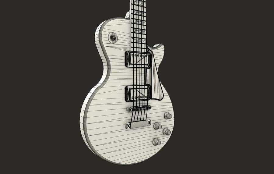 Elektrisk gitarr (PBR) royalty-free 3d model - Preview no. 5