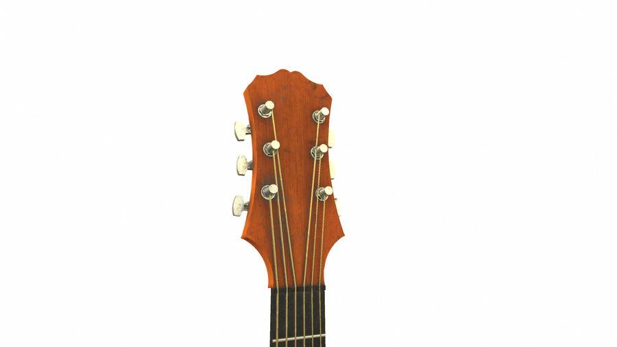Elektrisk gitarr (PBR) royalty-free 3d model - Preview no. 11