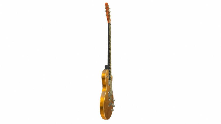 Elektrisk gitarr (PBR) royalty-free 3d model - Preview no. 6