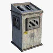 Industrial Chimney 3d model