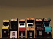 Kabiny z lat 80-tych 3d model