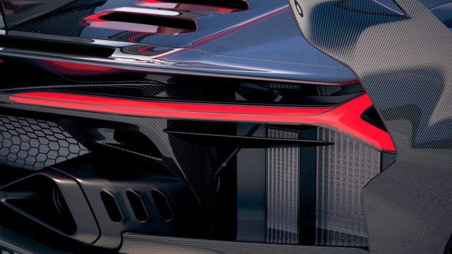 Lamborghini SC18 2019 royalty-free 3d model - Preview no. 17