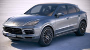 Porsche Cayenne S Coupe 2020 3d model
