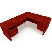 办公桌样式1 3d model