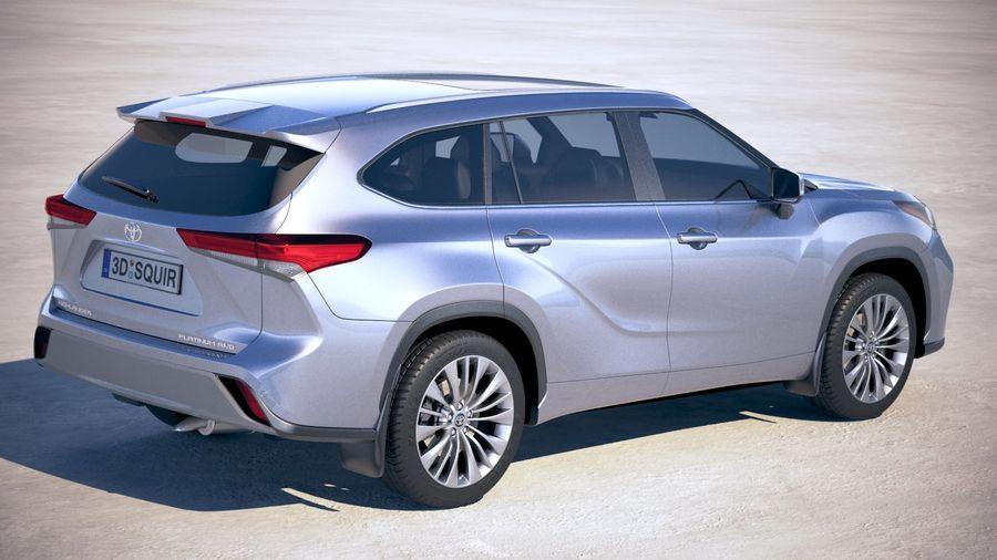 Toyota Highlander 2020 3d Model 129 Obj Max Ma Lwo