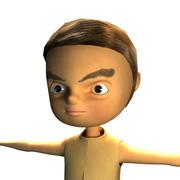 3D男孩 3d model