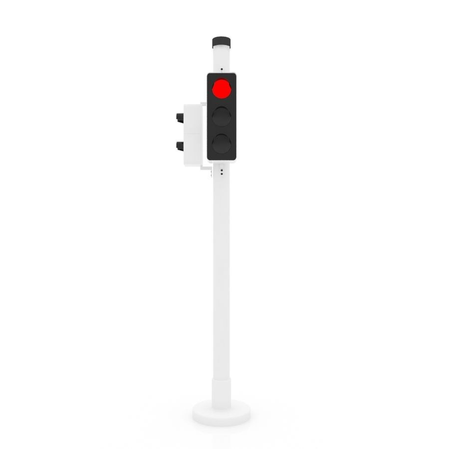 Traffic Signal royalty-free 3d model - Preview no. 5