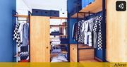 Unidad de ropa modelo 3d
