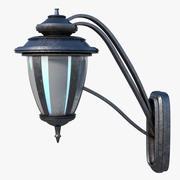 Ретро настенный светильник 3d model