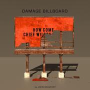 Damage Billboard 3P 3d model