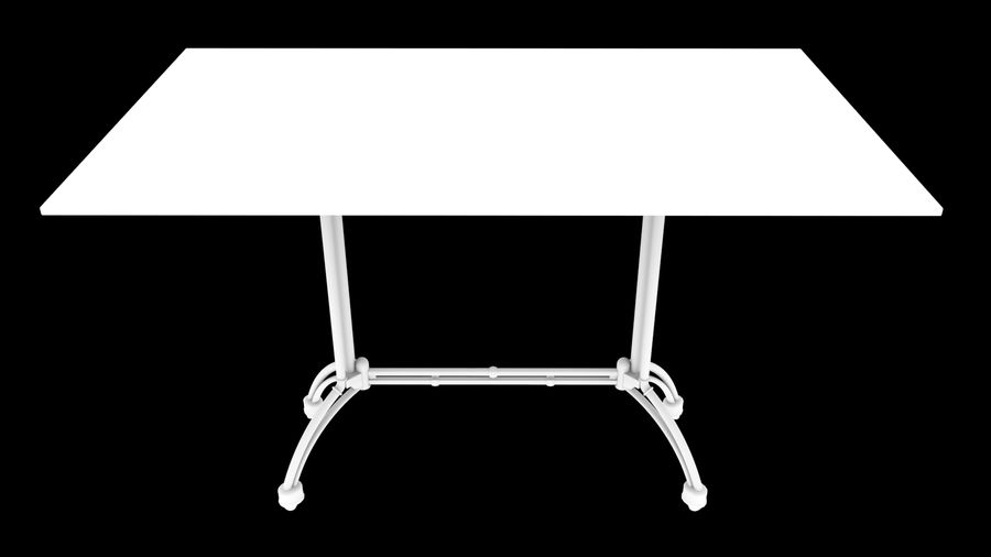 big table royalty-free 3d model - Preview no. 8