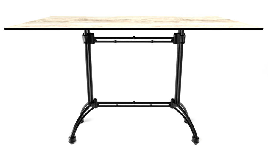 big table royalty-free 3d model - Preview no. 1