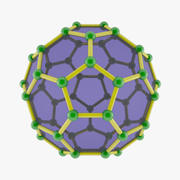 Fullerene 2 3d model