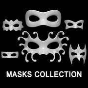 マスクコレクション 3d model