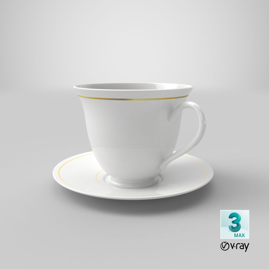 Tasse à café royalty-free 3d model - Preview no. 15