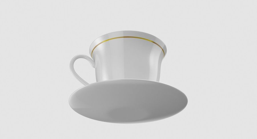 Tasse à café royalty-free 3d model - Preview no. 5