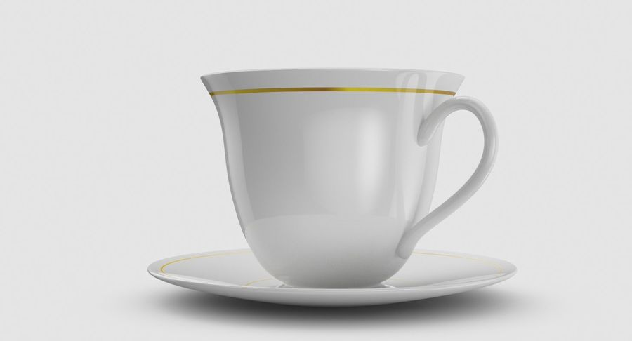 Tasse à café royalty-free 3d model - Preview no. 4