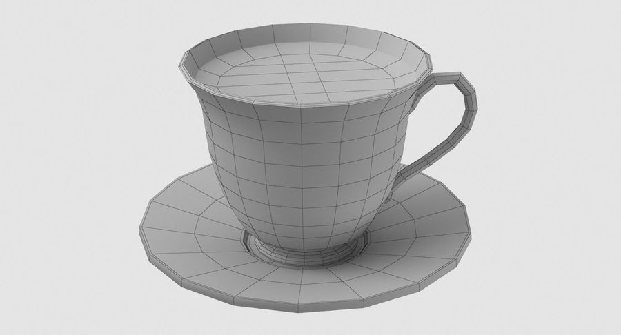Tasse à café royalty-free 3d model - Preview no. 8