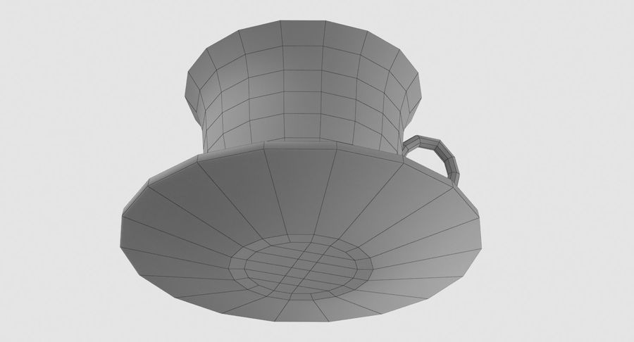 Tasse à café royalty-free 3d model - Preview no. 10