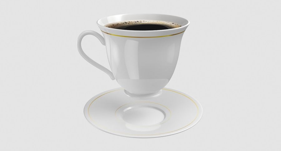 Tasse à café royalty-free 3d model - Preview no. 6