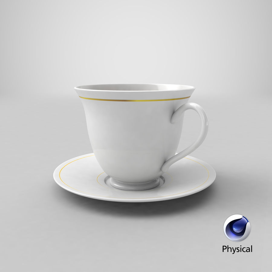 Tasse à café royalty-free 3d model - Preview no. 17