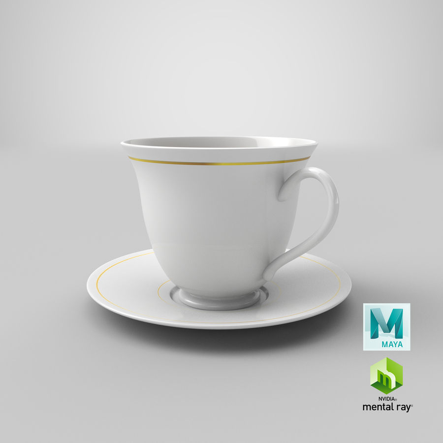 Tasse à café royalty-free 3d model - Preview no. 14
